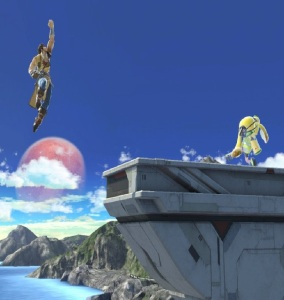 Richter Belmont vs inkling super Smash Bros ultimate Nintendo Switch Castlevania