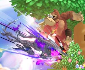 Ridley vs donkey Kong Super Smash Bros ultimate Nintendo Switch Metroid