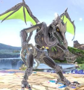 Ridley Super Smash Bros ultimate Nintendo Switch Metroid