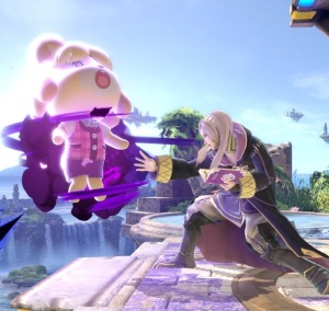 Robin vs Isabelle super Smash Bros ultimate Nintendo Switch fire Emblem