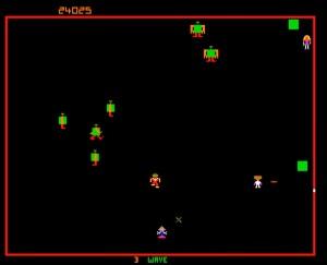 Classic arcade game robotron 2084