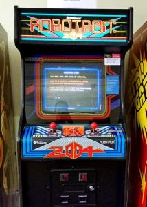 Robotron 2084 arcade machine Williams