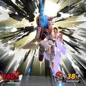 Final Smash Ryu super Smash Bros ultimate Nintendo Switch street fighter Capcom