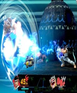 Ryu final Smash attack super Smash Bros ultimate Nintendo Switch street fighter Capcom