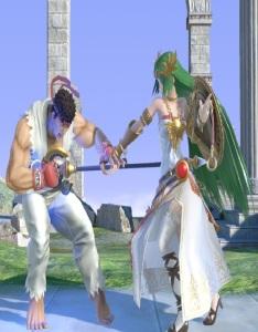 Ryu vs palutena super Smash Bros ultimate Nintendo Switch street fighter Capcom