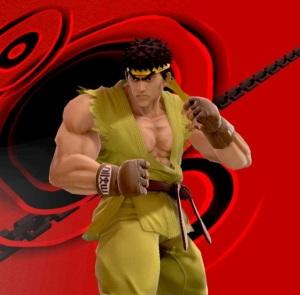 Ryu super Smash Bros ultimate Nintendo Switch street fighter Capcom