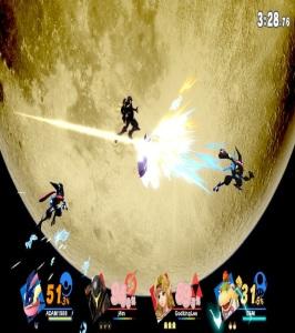 Greninja final Smash super Smash Bros ultimate Nintendo Switch Pokémon