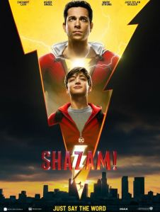 Shazam 2019 film movie poster