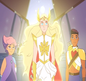 Adora becomes She-Ra She-Ra and the Princesses of Power Netflix