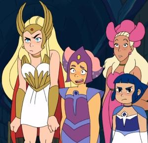 RetrRetro costumes She-Ra and the Princesses of Power Netflix