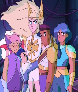 Power of friendship She-Ra and the Princesses of Power Netflix