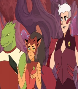 Force captain Catra She-Ra and the Princesses of Power Netflix