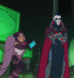 Entrapta working for lord Hordak She-Ra and the Princesses of Power Netflix