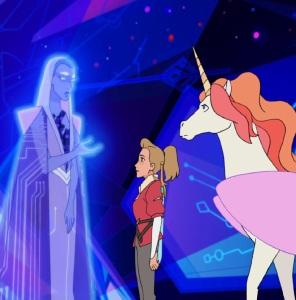 Adora and her unicorn She-Ra and the Princesses of Power Netflix