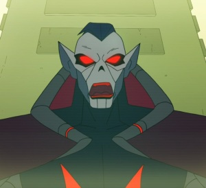 Lord Hordak red eyes yelling She-Ra and the Princesses of Power Netflix