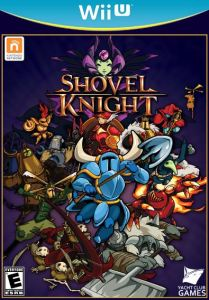 Shovel Knight wiiu Nintendo boxart