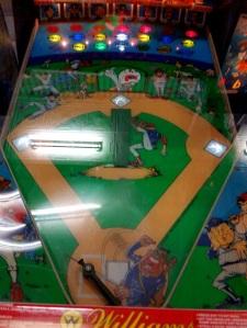 SlugFest Pinball baseball game