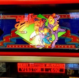 SlugFest Pinball machine