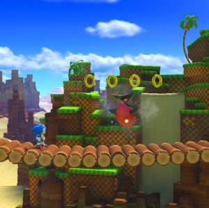 Sonic Forces classic Sonic 2D levels Nintendo Switch Xbox One PS4 Sega