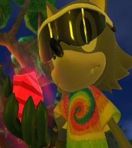 Sonic Forces recruit holding Phantom Ruby Nintendo Switch Xbox One PS4 Sega