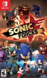 Sonic Forces Nintendo Switch boxart