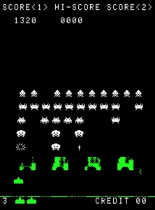 Space Invaders Taito arcade game