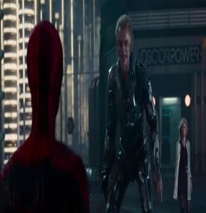 Spider-man vs green Goblin The Amazing Spider-Man Andrew Garfield
