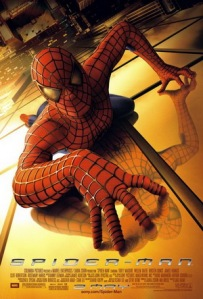 Spiderman 1 movie poster