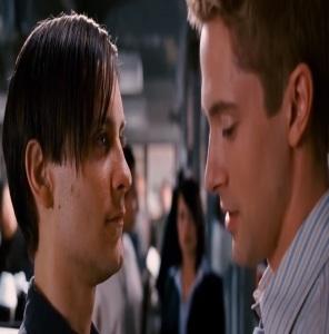 Peter Parker gets Eddie Brock fired Spider-Man 3 Topher grace
