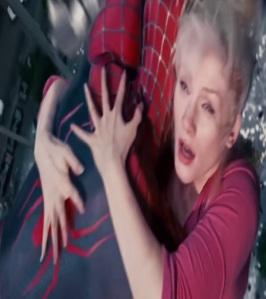 Gwen Stacy saved by Spider-Man Spider-Man 3 Bryce Dallas Howard
