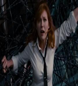 Mary Jane Watson captured by venom Spider-Man 3 Kristen Dunst