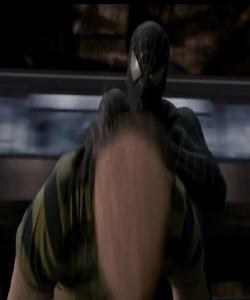 Sandman fights Spider-Man first time Spider-Man 3