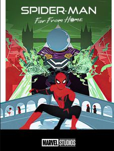 Spider-Man Far From Home movie poster tom Holland Jake Gyllenhaal