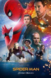 Spider-Man: Homecoming movie poster tom Holland Robert Downey Jr