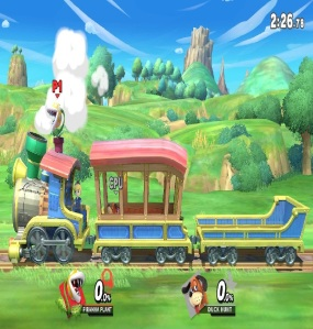 Spirit Train stage super Smash Bros ultimate Nintendo Switch Zelda spirit tracks