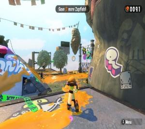 Single player mission Splatoon 2 Nintendo Switch