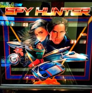 Spy Hunter Pinball Machine