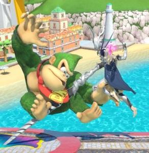 Corrin vs donkey Kong super Smash Bros ultimate Nintendo Switch fire Emblem