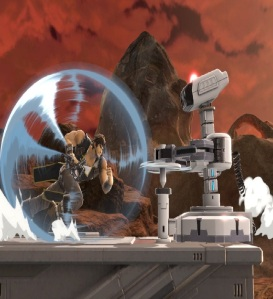 Richter Belmont vs ROB super Smash Bros ultimate Nintendo Switch Castlevania