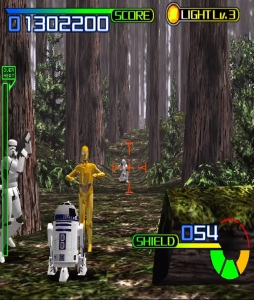 Star Wars Trilogy Arcade c3po and R2-D2