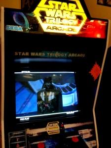 Star Wars Trilogy Arcade cabinet machine