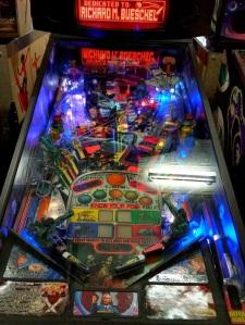 Starship Troopers Pinball board