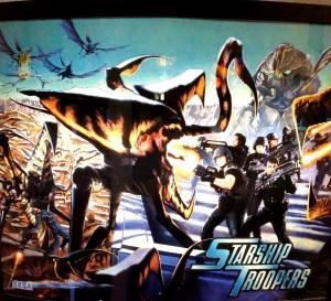 Starship Troopers Pinball machine