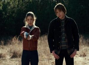 Stranger Things jonathan byers nancy wheeler target shooting Netflix