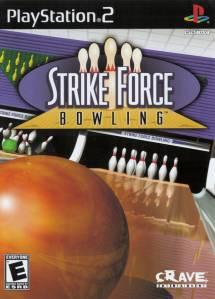 Strike Force Bowling PS2 boxart