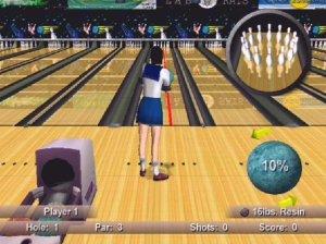 Japanese schoolgirl Strike Force Bowling PS2