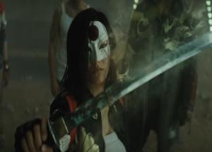 Katana holding sword that captures souls Suicide Squad