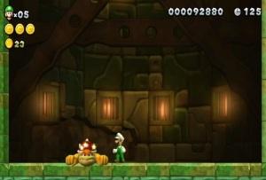 Boss battle New Super Luigi U Nintendo WiiU