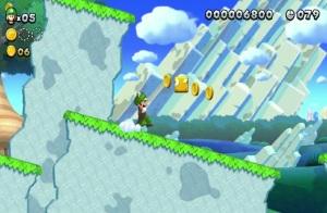Acorn suit New Super Luigi U Nintendo WiiU