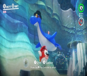 Fish Mario Super Mario Odyssey Nintendo Switch
